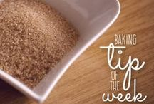 Baking Tip of the Week / #TipTuesday with Sweetly Scrumptious