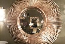 Sunburst Mirrors / Sunburst mirrors are perfect for your summer interior however will add a burst of light to your home at any time of year. These mirrors make a stunning focal point and will add interest to your walls.