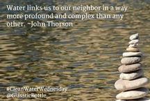#CleanWaterWednesday / #CleanWaterWednesday / by Glasstic Bottle