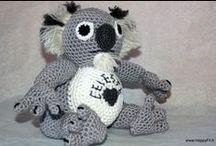 Doudou ou amigurumi au crochet / Créations de doudous ou amigurumi au crochet