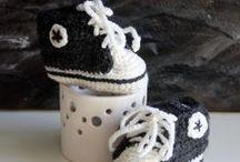 Chausson pour bébé au crochet / Créations de chausson pour bébé au crochet