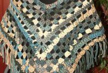 Poncho ou cape au crochet / Créations de cape ou poncho au crochet