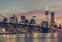 New York City / The city that never sleeps. The place that we call home.