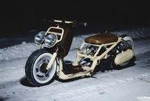 Custom mopeds