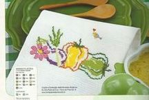 Vegetables Cross Stitch