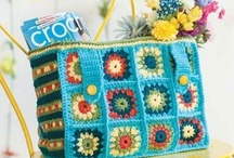 Crochet bags, cases, purses