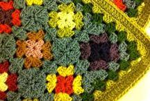 Crochet, Knitt Blanket