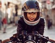 Cafe racer girls / All the beautiful girls and models I come across during my blogger life... Well, almost all.