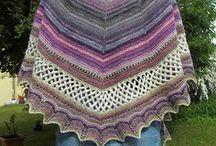 Crochet, Knitt Shawls, Scarf, Cowls