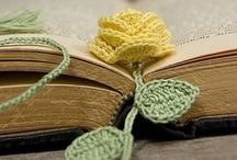 Crochet Bookmarks and Book covers