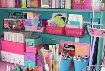 Craft room Decor & Organizing