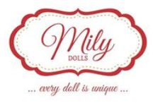 MILY Dolls / … EVERY DOLL IS UNIQUE … MILY dolls are handmade, and every doll has it own expression. MILY dolls are made by order.