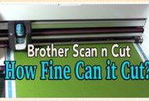 SCAN N CUT, BROTHER, Cutting Machine / Scan N Cut, Brother Machine: uses, ideas, tips, tricks, tutorials