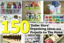 STORAGE & ORGANIZING SOLUTIONS