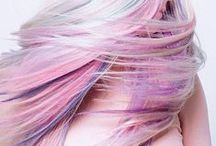 Pastel Hair / Awesome pastel colored hair inspiration.