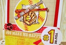 Play Ball / Play Ball Stamp Set by Power Poppy