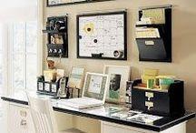 Idéias para Home-Office / Cantinhos inspiradores para escritores e produtores de conteúdo em geral.