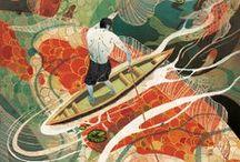 Ilustrações Editoriais / Ilustrações de livros que inspiram