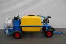 Spraying carts / Spraying carts are used for crop protection and various cleaning services in the horticulture.