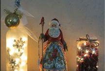 Seasonal Bottle Lamps / A different bottle lamp for every season!