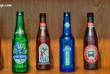 Beer Bottles Galore! / What to do with those empty glass bottles that are way too cool to just throw away? Look no further.