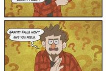 Gravity Falls / I'm not sure if I should saying it loud, but well... I really like it ^.^