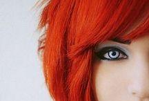 Orange Hair / Orange dream hair.