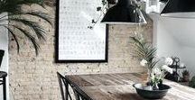 Rustic Scandi Interiors. / Home decor and interior design inspiration from minimal Scandinavian ideas <3