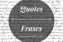Quotes || Frases / Frases que inspiraran. || Inspirational quotes