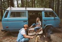 Van Life. / Life on the road, in a van, going with the flow and full of adventure