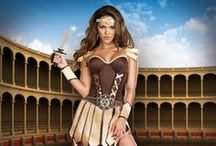 Ancient Antics / Our sexy cave girl costumes and prehistoric cave woman fancy dress outfits are ideal for dressing up when you're feeling a bit wild. Or if you want to dress up in an Aphrodite, Goddess of Love costume or another sexy Greek Goddess costume then these are the fancy dress costumes for you. We also have a collection of sexy warrior costumes, including warrior princess costume, and Roman gladiator. 