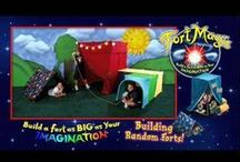 More Fort Building Ideas For Kids / Visit us at www.FortMagic.com to learn more. / by Fort Magic