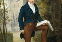 1795-1820 Men (Regency) / by Christina Papp