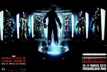 """Cartoomics 2013 festeggia i 50 Anni di Iron Man / IN OCCASIONE DELL'USCITA IL 24 APRILE NELLE SALE ITALIANE DELL'ATTESISSIMO FILM MARVEL """"IRON MAN 3"""""""