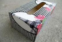 Krabičky/Šperkovnice / Krabičky a šperkovnice rôznych veľkostí s rôznymi motívmi.