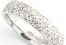 Diamond Wedding Rings / Showcasing a selection of our beautiful and bespoke, hand-crafted Diamond Set Wedding Rings at Form Bespoke Jewellers. www.formjewellery.com