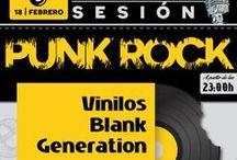 """Eventos Vinilos BG / Eventos punk rock en todo el mundo. De nuestra sección """"eventos"""" de Vinilos Blank Generation."""