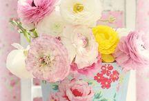 Shabby Chic / Decoración de estilo campestre: bodas, tartas, muebles