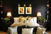 """Beds / """"Life is too short to sleep on low thread-count sheets."""" -Leah Stussy #bedrooms #luxurious"""