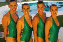 Acuáticas de bailamelagua... / Nuestras  acuáticas. Our aquatic girls.