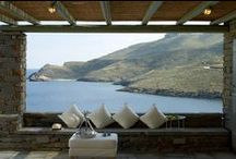 Architecture of Kea Island / Traditional and modern architectural methods and styles!