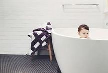 Kate & Kate: Bathroom / Kate & Kate produce beautifully luxurious bath sheets and hand towels - super soft and absorbent.
