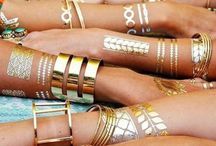 Fabulous Flashtattoos / For summer festivals 2015, this is a must!