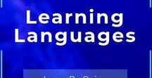 Learning Languages / All about learning languages. We love languages, let's share our favorite resources to learn #Languages. UNRELATED CONTENT WILL BE DELETED AND SPAMMERS WILL BE BANNED WITHOUT NOTICE. This board is brought to you by Think Bilingual