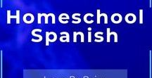 Home School SPANISH / Homeschool Spanish language resources, Are you ready to change the way your students learn languages? Immersion is the answer-- Think Bilingual is the method. #teacher #english #french #spanish #esl #duallanguage #clta2018 #edtech #language