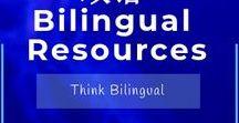 双语 Bilingual Resources / Learning English, Spanish, French 双语 Bilingual Resources