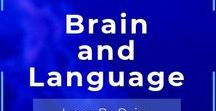 Brain and Language / All about learning #Language and brain development. We love languages resource, let's share our favorite resources about brain and language. UNRELATED CONTENT WILL BE DELETED AND SPAMMERS WILL BE BANNED WITHOUT NOTICE. This board is brought to you by Think Bilingual - Learn by doing