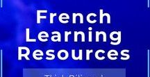 FRENCH Resources / French learning resources, audio books, stories, charts