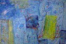 Meine Gemälde / Hier stelle ich meine eigenen Bilder aus. Wer mag, kann auch meine Webstite besuchen unter www.wolfkopp.de