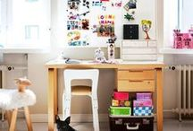 Kids Study Area / Kids' Study Zone design ideas and photos.Create a bright and lively space that'll get your kid's study there.  Kids desks and study tables, kids workspaces and lots of inspiration!